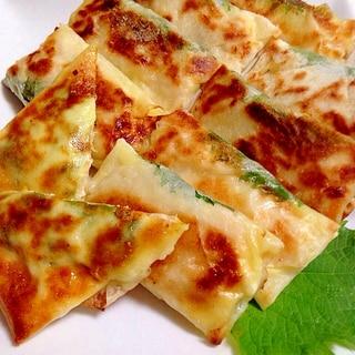 焼きチーズ春巻き(・o・)