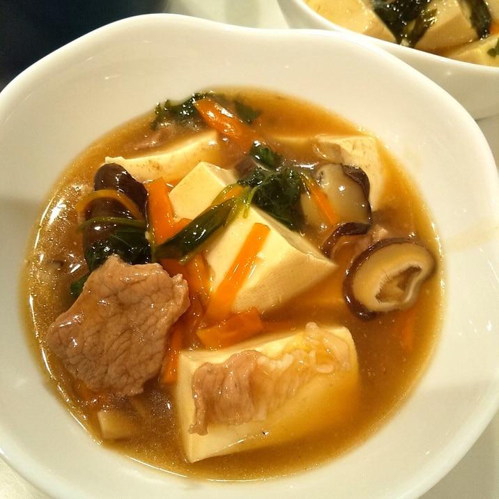 豆腐でメインのおかず*具沢山あんかけ豆腐