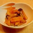 サッと簡単☆長芋とシメジのバター醤油炒め