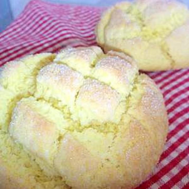 20分で出来る☆ホットケーキミックスでメロンパン