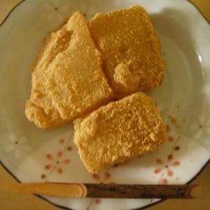 くず湯で簡単わらび餅