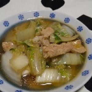 節約☆簡単☆白菜と豚肉の中華あんかけ