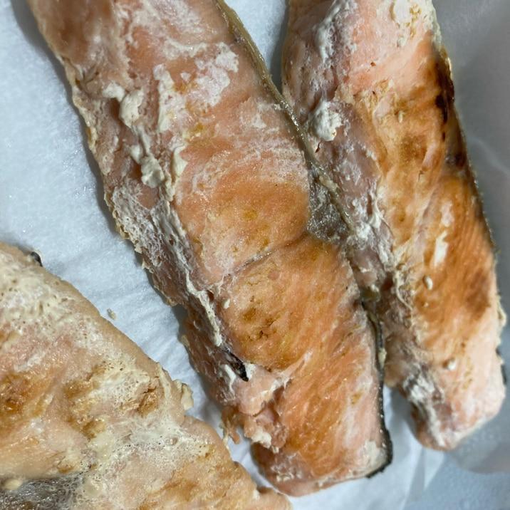 作り置きに、鮭の塩麹焼き