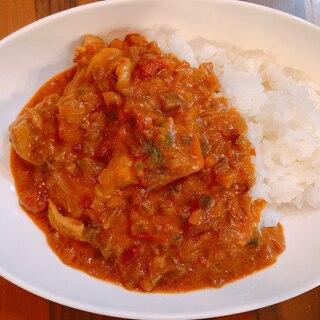 ルーとトマト缶で♩茄子たっぷりチキンカレー