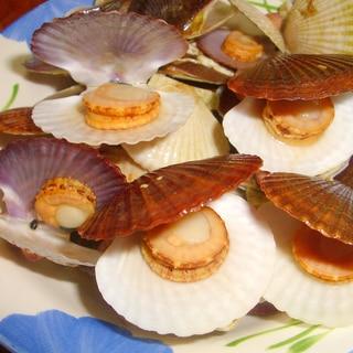 簡単おいしい! ホタテの稚貝の蒸し煮