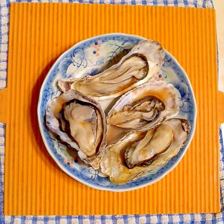 牡蠣 蒸し