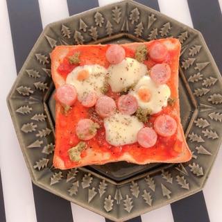 冷凍食パンでピザトースト
