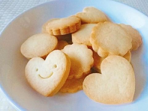 ぽりぽり型抜きクッキー