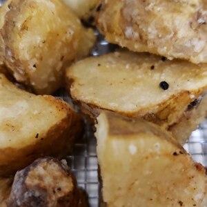シンプルに 菊芋の素揚げ