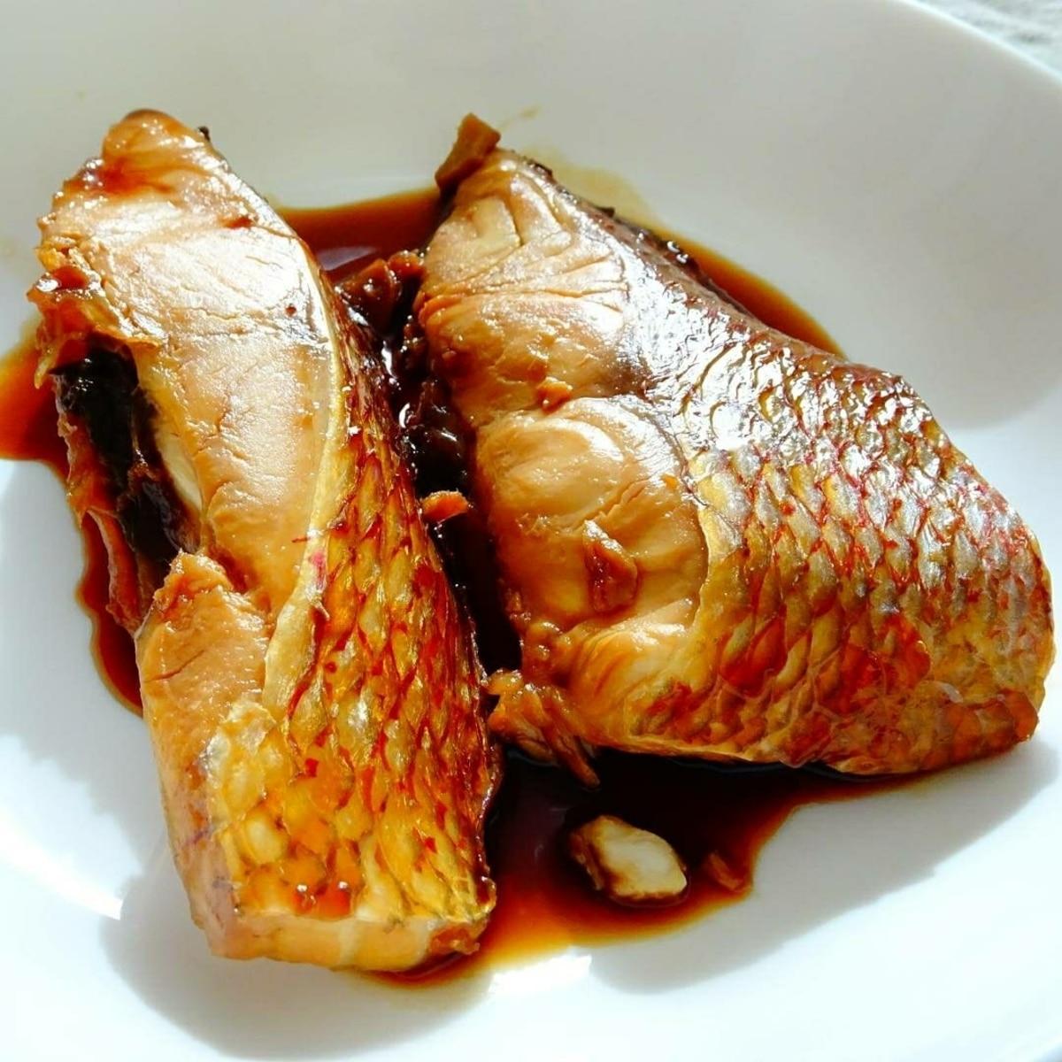 煮付け レシピ の 鯛