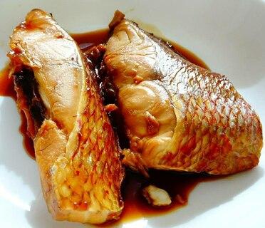 真鯛の煮付