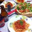 ツナとトマト缶で簡単おいしい♪トマトパスタ