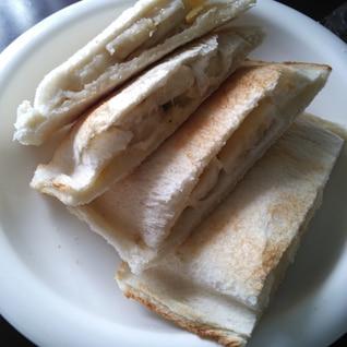 トースターで☆バナナのホットサンド