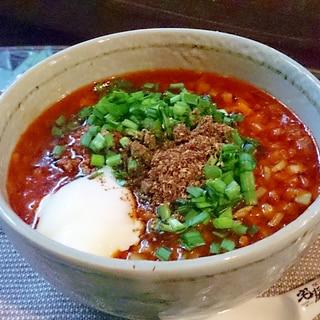 お手軽だけどプロの味「勝浦タンタン麺」