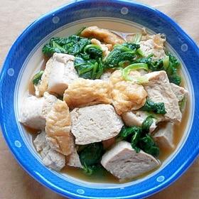 冷凍豆腐の煮物