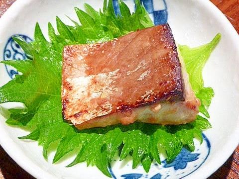 アルミ箔で焼いて簡単!かんぱちの☆醤油麹漬け焼き