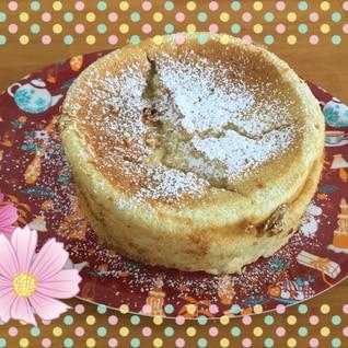 しっとり 柚子のチーズケーキ