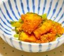 小松菜とかぼちゃのごま和え