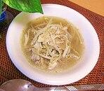 もやしときのこの中華スープ