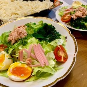 ビタミンたっぷり☆贅沢サラダうどん
