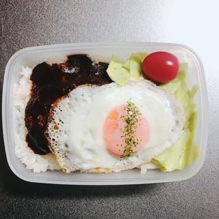 ロコモコ風お弁当