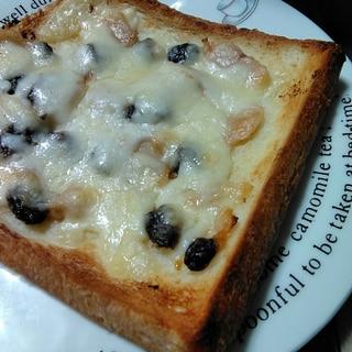 母の日に♡酒粕レーズンチーズトースト