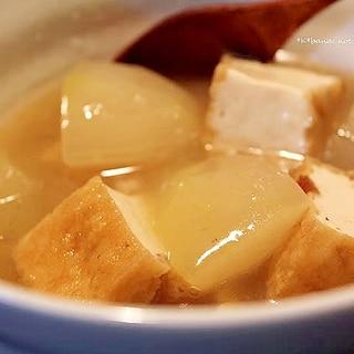 冬瓜と厚揚げのとろみ煮