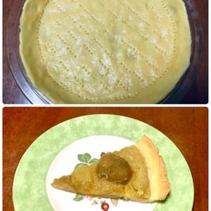 簡単基本のタルト台☆彡バター不使用で甘さ控えめ♥