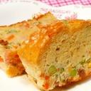 ☆ハーブ&野菜たっぷりヘルシーでおいしいケークサレ