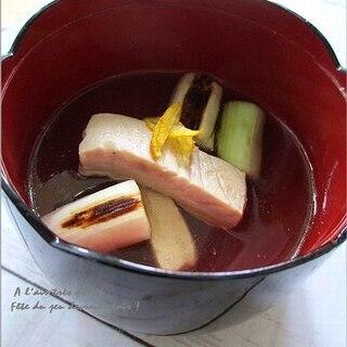 ほっくりとした優しさ・ねぎま汁
