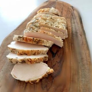 鶏胸肉でしっとりローストチキン☆タイム風味