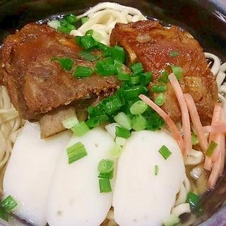 圧力鍋で沖縄そば(ソーキ)