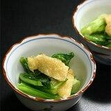 カルシウム補給に小鉢を追加!小松菜のたいたん