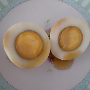 ゆで卵で簡単!味付け卵(^^)お弁当にもぴったり!