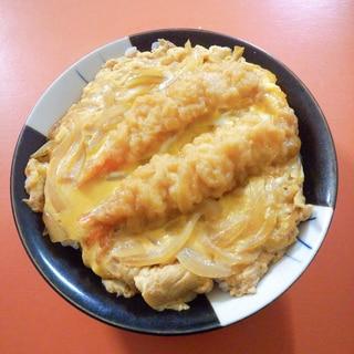 卵とじ☆海老天丼
