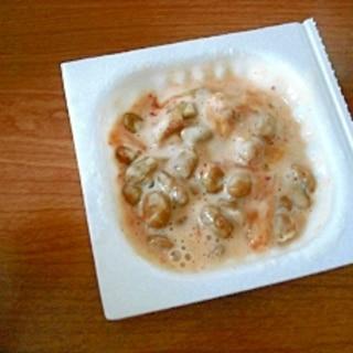 最強発酵コラボ♥キムチヨーグルト納豆