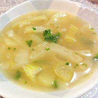 シンプルフェンネルスープ