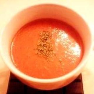 簡単ガスパチョ  スペインの冷製トマトスープ