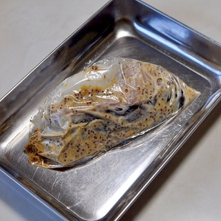 下味冷凍◇生鱈の粒マスタードマヨネーズ漬け