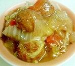 白菜と肉団子のオイスターソース煮