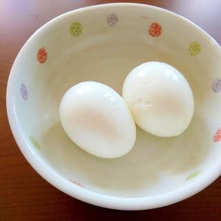 半熟茹で卵☆電気圧力鍋(インスタントポット)