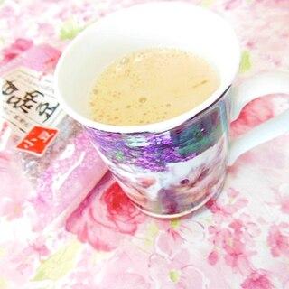 ❤ココナッツオイルと甘納豆のラムチョコ珈琲❤