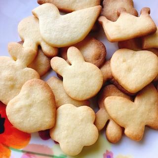 【保存版】濃厚バター風味!サクサク型抜きクッキー