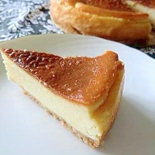 15cm型で簡単チーズケーキ