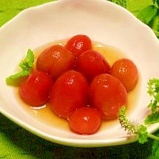 フルーティー☆トマトのリンゴ酢シロップ漬け