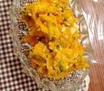 かぼちゃと卵の簡単サラダ