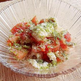 鱧とトマトのすだち和え【低脂肪・ノンオイル】