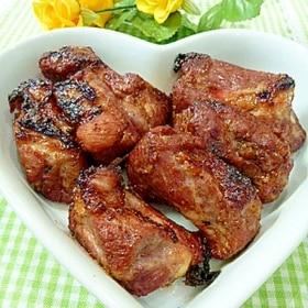 簡単★漬けて焼くだけ「焼き肉のたれでスペアリブ」