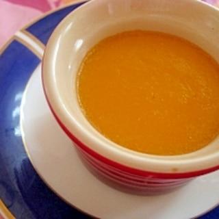 牛乳だけで濃厚かぼちゃプリン♪