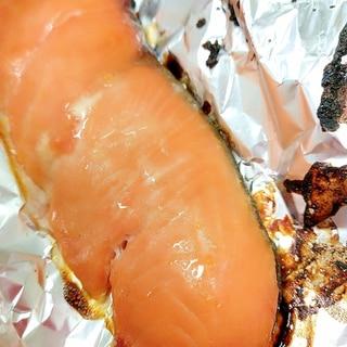 簡単♪(^^)子供が大好き鮭の西京漬け焼き♪